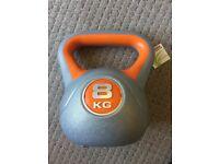 8kg kettlebell - Brand New - York Fitness