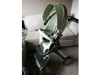 Stokke Xplory with car seat