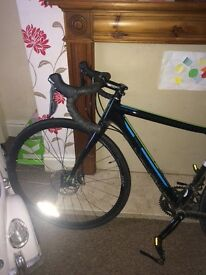 Gt grade tiagra road bike 51cm frame