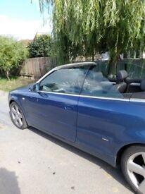Audi a 4 convertible