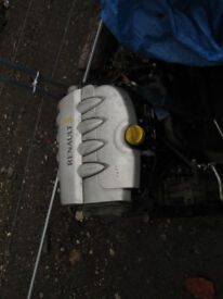 2005 - 2009 RENAULT CLIO 1.4 ENGINE AND GEARBOX FOR SALE BARGAIN!!!!