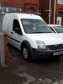 Ford transit connect LWB high roof.