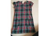 Next tartan aged 8 dress