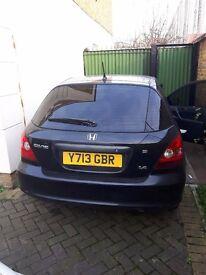 Honda Civic 1.4 S Petrol, Manual, Hatchback, 5dr, 146463miles, 4 Months MOT, Tinted Windows, NON RUN