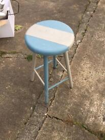 Pine stool