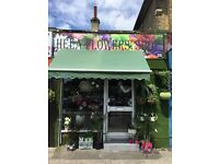 Flower shop FOR sale