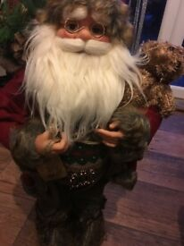 Standing santa 60 cm tall new