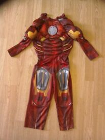 Ironman dressing up ,age 4 to 5 , good condition.