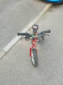 Kids bike with stabilizer