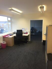 Large office space with utilitiy bills included(no minimum term)