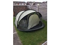 Outwell Fusion 400 Pop Up Tent (4 Man)