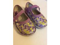 NEW CLARKS TODDLER GIRLS 5f shoes