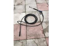 Jet wash lance and hose professional 20 magic release