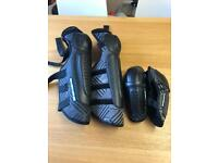 SixSixOne shin and elbow guards