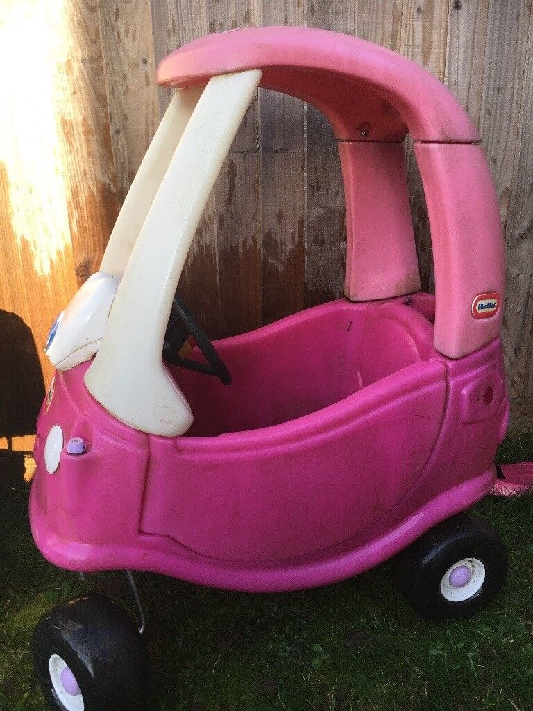 Little tikes pink car for sale
