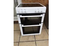 NEW WORLD 60cm Electric Cooker - White FOR SALE. £160 Bargain price