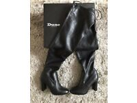 Dune London boots 484sibyl Black BRAND NEW, NEVER WORK, TAGS/STICKERS, BOXED