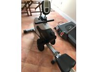 A Rowing machine suitable for indoor gym.