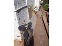 plaster board off cuts,