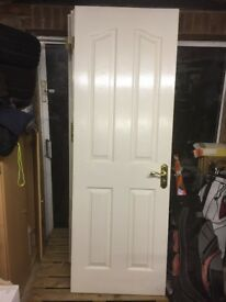 7 interior doors with handles and hinges