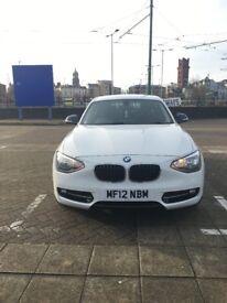 2012 BMW 116i Sport Manual Alpine White 5dr 58800miles Petrol 1.6l 17' Alloys