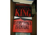 Stephen King Hardback Book Everything's Eventual - Perfect Condition