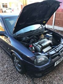 Corsa gsi rep with C20xe redtop engine
