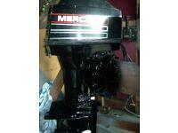 OUTBOARD BOAT ENGINE MERCURY 60HP TRIPPLE LO/SH