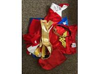 Girls wonder women outfit,