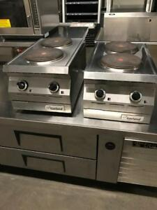 2 electic garland double burner stove counter top , mint like new ! Only $850 each