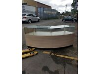 Large Glass Counter for Retail, Perfect Condition. Cheapest Available on Market and Gumtree.