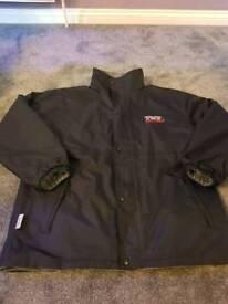 TVR fleece lined waterproof jacket