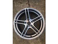 "Genuine Bmw 3 series M Sport alloy Wheel rim 9 x 19"""