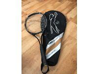 Tim Henman tennis racket