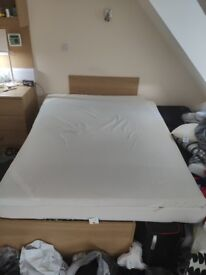Very comfortable memory foam mattress topper for double bed