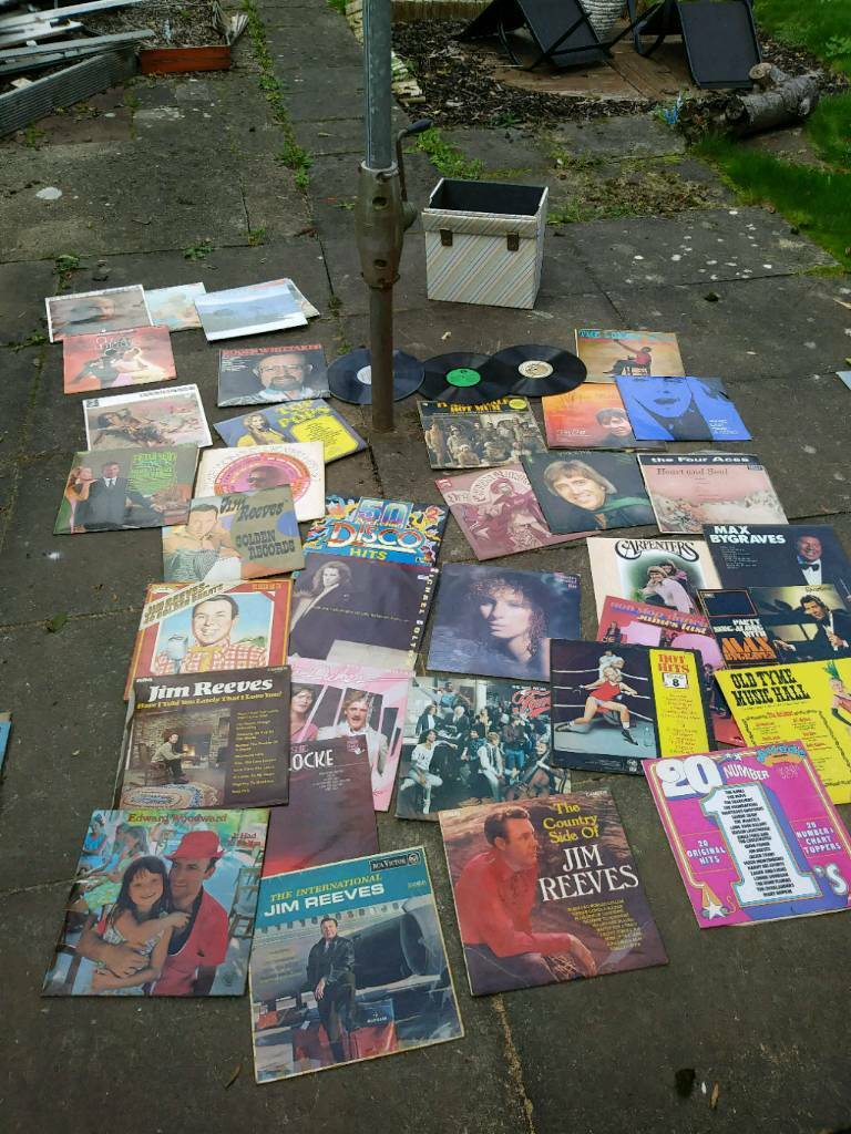 45 vinyl records.1960s rock n roll.70s disco etc