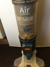 Vax Air cordless hoover with spare battery