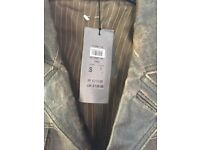*NEW* All Saints Style *£130* River Island Men's Leather Jacket *£50 ONO*
