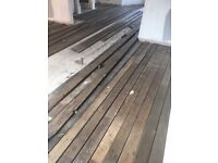 Reclaimed Edwardian Tongue and Groove Pine Floorboards
