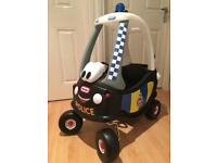 Little Tykes Police Car Cozy Coupe