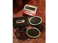 Car stereo, speakers, amplifier and cables