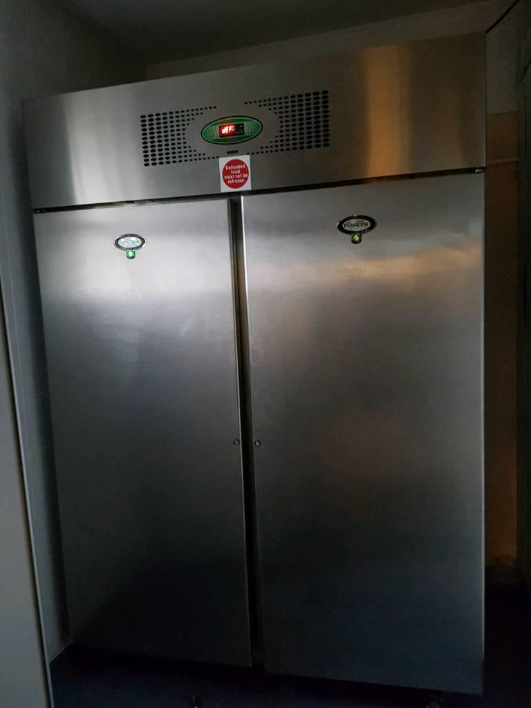 Foster 2 door commercial freezer