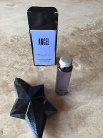 Angle bottle and refil.