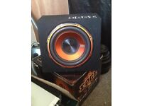 Edge sub woofer built in amp 900 watt (only 6 months old)