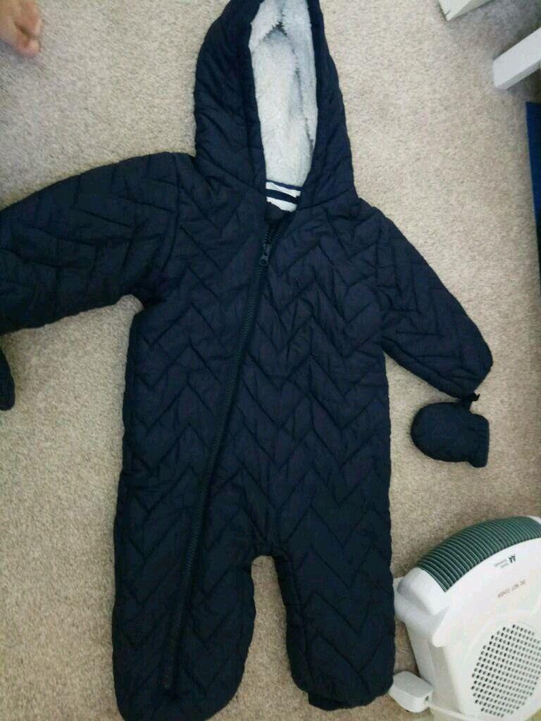 fad15d351568 Next 12-18 months boys snowsuit coat
