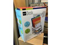 Desk Organizer. New in box.