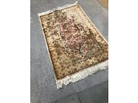 Rug , good colours . Size - 150cm x 90cm In good condition