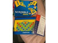 SCRABBLE FOR JUNIORS BOARD GAME 2 LEVELS OF PLAY