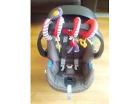 Mamas & Papas Cybex Aton car seat, isofix base, travel system adapters, toy, all excellent condition