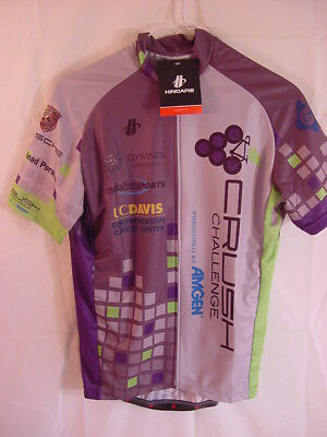 Nwt Hincapie Jersey Amgen Crush Challenge Axis Rs Short Sleeve Size Mens Medium